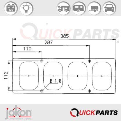Multiple Function Light | Jokon E1-785