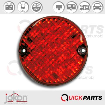 LED Stop / Tail Light | 12V | Jokon E2-203037, BRS 720/12V