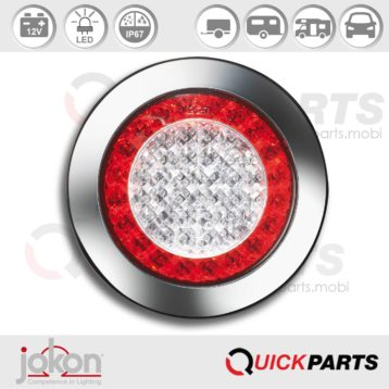 Feu LED Indicateur de direction / Stop / Position | 12V | Jokon 10.0055.000, E1-4231