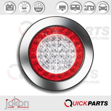 LED Directional / Stop / Tail Light | 12V | Jokon E1-4231 - BBS 735b/12V