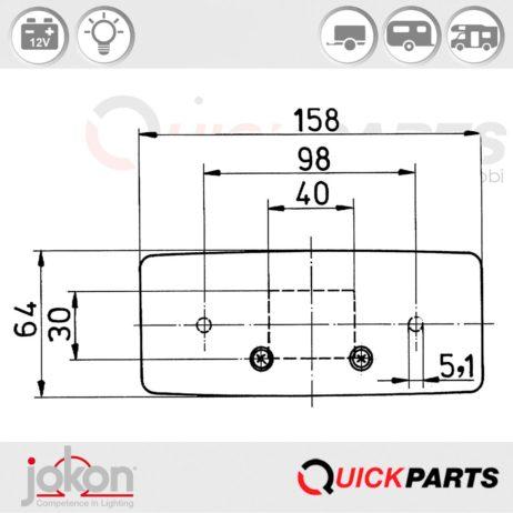 Multiple Function Light | Jokon E1-01559 E1-0153329