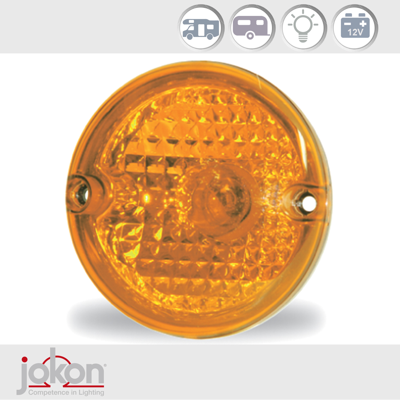 Caravan Motorhome Trailer Direction Light | Jokon E1-1547