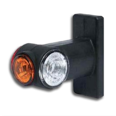 Feu LED de gabarit, de position latéral orange, applicable à gauche ou à droite, support flexible | Jokon 12.0017.000, E2-08101, SPL 2020 G.
