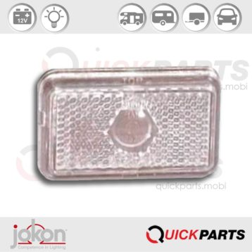 Front Marker Light | 12V | Jokon 11.1001.001, E1 0221653