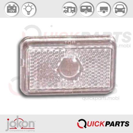 Front Marker Light | 12V | Jokon 11.1001.001, E1 0221653