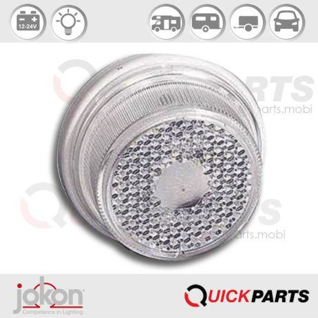 Front Marker Light | 12-24V | Jokon 11.1003.000, E1-0221633
