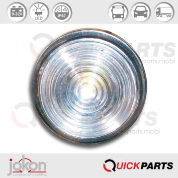 Led Front Marker Light | 9-33V | Jokon 13.5010.000, E2-05035