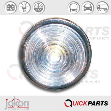 LED Begrenzungsleuchte | 9-33V | Jokon 13.5010.000, E2-05035