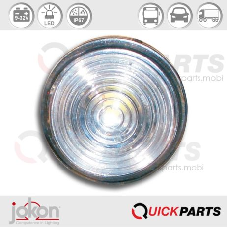 Led Front Marker Light | 9-33V | Jokon 13.5010.000, E2-05035