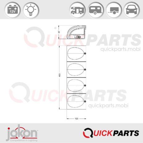 Modular Directional | 12V | Jokon 2a 01 E1-2116
