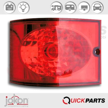 Modular Stop / Tail Light | 12V | Jokon 10.2091.840 M, E9-1442