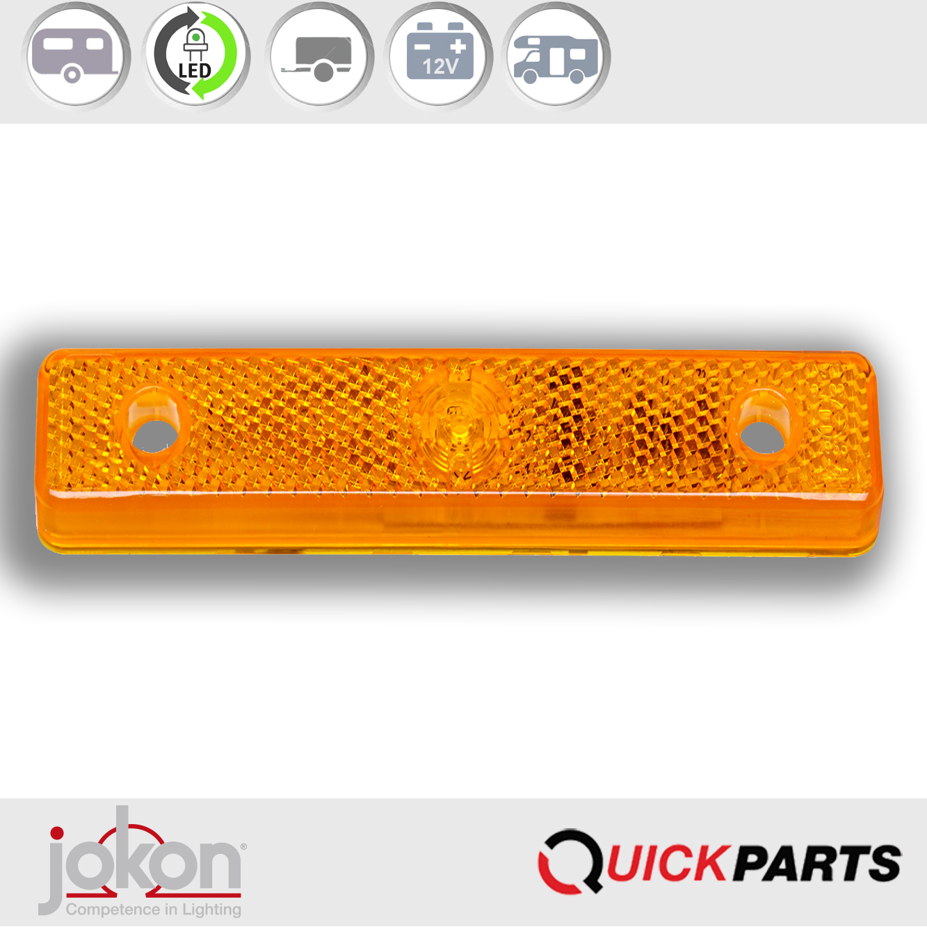 Feux LED de position latéral 12V | Jokon E1-2995