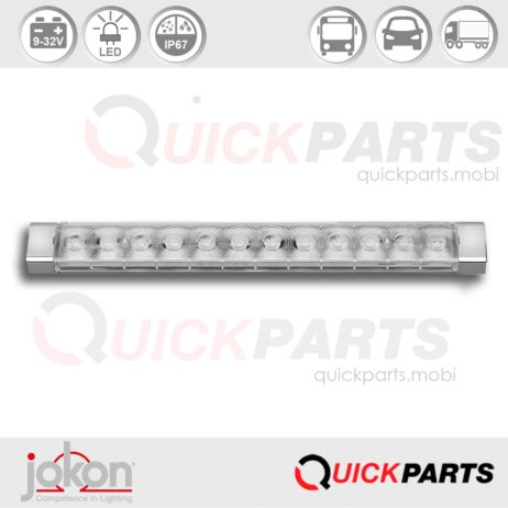 LED Reversing Light | 9-32V | Jokon E13-13360 EMV / EMC, W 250/9-32V