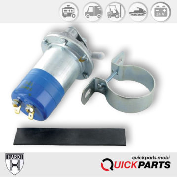 Pompe universel électrique de gavage pour carburant | 24V | Max 130 l/h | Hardi 18824