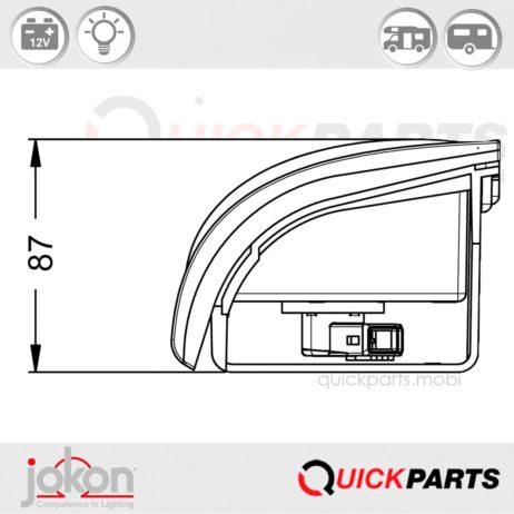 Luz de marcha atrás modular | Jokon E1-2217