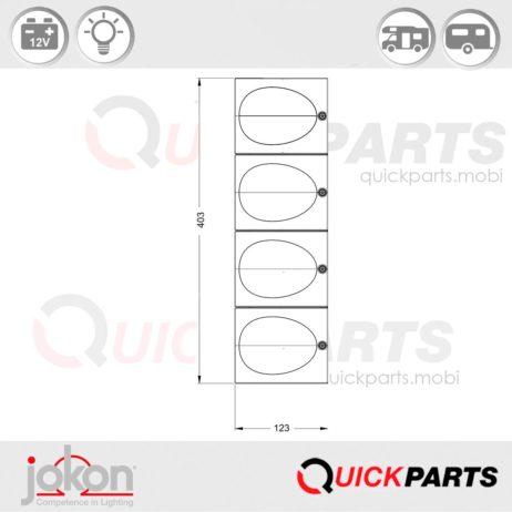 Modular Reflex Reflector | Jokon E1-2240