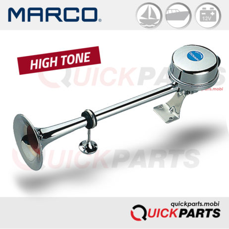 Electromagnetic horns with stainless steel trumpets | Marco 132 040 12, EM2