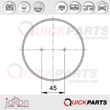 LED Direction / Stop / Tail Light | 12v | Jokon E1-4231