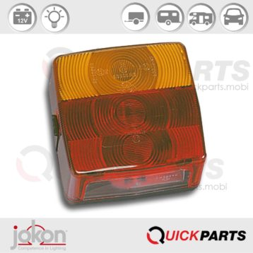 Multiple Function Light Left or Right applicable | 12V | Jokon 10.1002.100, E1-0153305, BBS(K) 205
