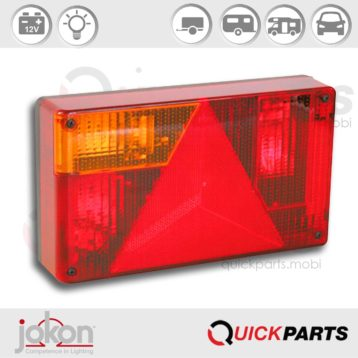 Multiple Function Light / LH | 12V | Jokon 10.2070.110, E2-1281, BBSKN 595 LH