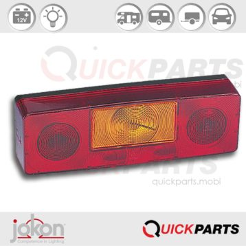 Multiple Function Light | 12V | Jokon 10.6001.560, E1-0231469 E1-0153308, BBS(K)N 496-LH