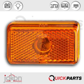Side Marker Light | 12V | Jokon E1-00108 E1-0221339, SMLR 130
