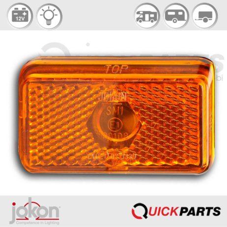 Side Marker Light | 12V | Jokon E1-00108 E1-0221339, SMLR 130