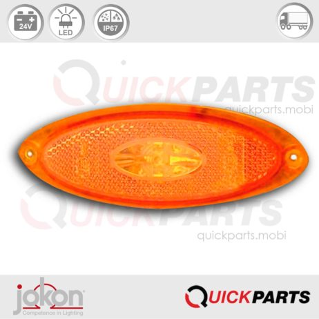 LED Side Marker Light | 24V | Jokon SM1 00 E2-05024, SMLR 2010/24a