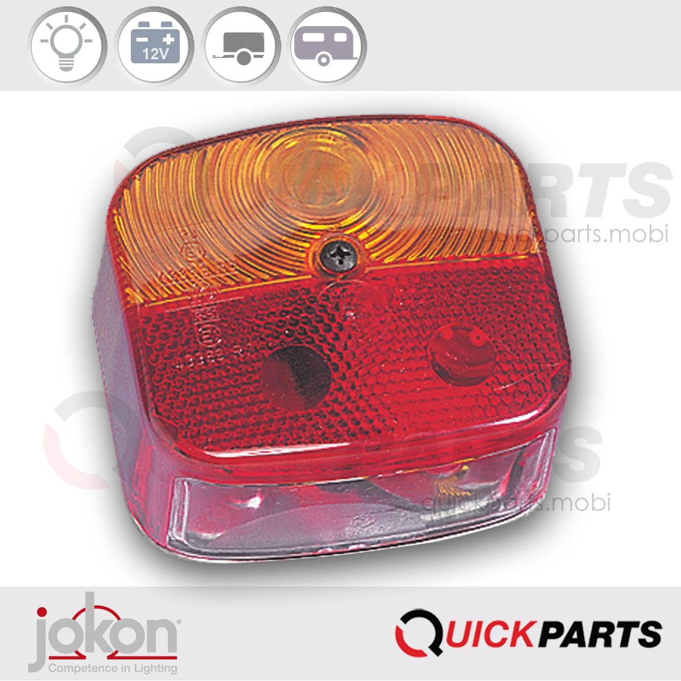 Multiple Function Light Left or Right applicable | 12V | JokonE1-4336