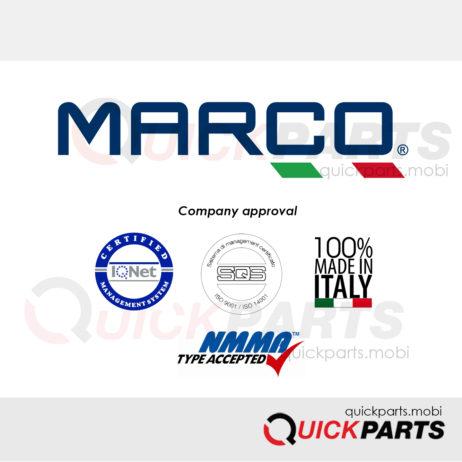 MARCO S.P.A fabrique des avertisseurs à air ou électrique pour voitures, camions , bateaux et le génie civile ainsi que des pompes de transvasement pour applications diverses, .pour la marine, l'agriculture, l'automobile.