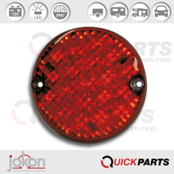 Feu LED antibrouillard | 12V| Jokon 13.3005.000, E2-0003036, SN 720/12V.