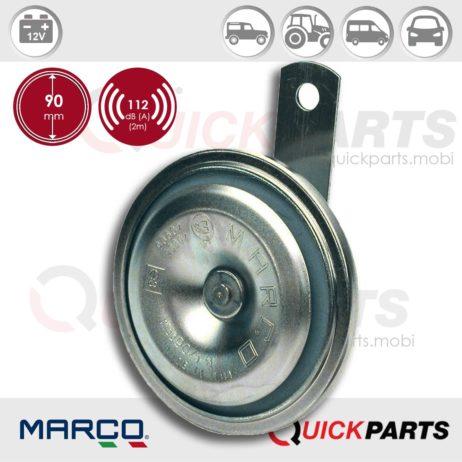Electromagnetic disc horn | 12V | Marco 102 000 12, 90/1-H