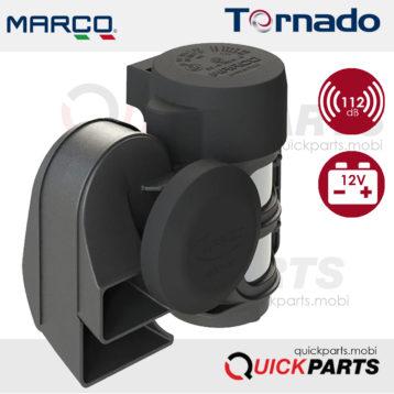 Avertisseur compact électropneumatique de 2 tons | 12V
