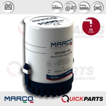 Submersible Pumps | 12V | Marco UP 1500, Marco 160 140 12, UP1500