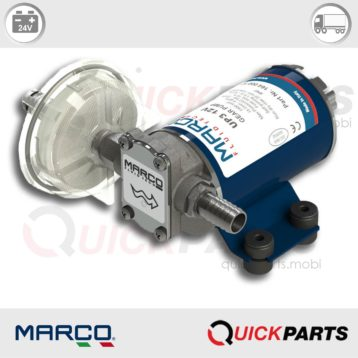 Electric Transfer Pump | 15 l/min - 4 gpm | Diesel, Water, Antifreeze.