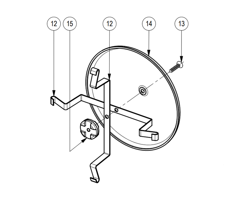 Hupe aus Edelstahl | 117 dB, Montageplan Diagramm , Marco 110 090 10, MGT/L