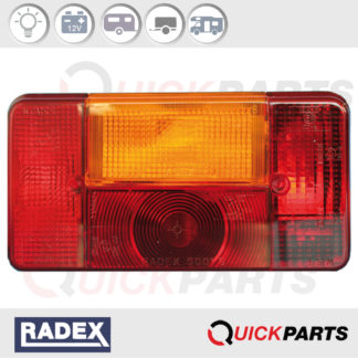 Rectangular Rear light | Sparex