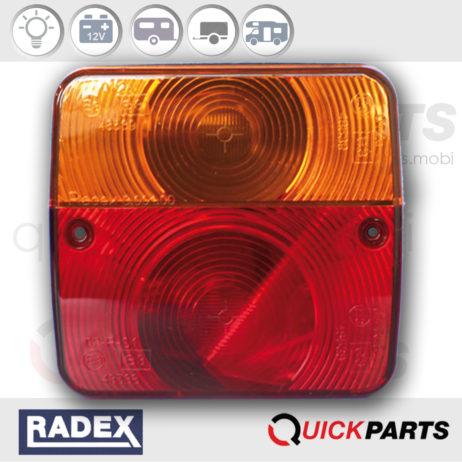 Rear light 12V | Right - Left | 97/28 CE and 2002/96/CE | RA3002/6