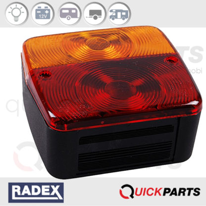 Rear light 12v | Right & Left | Radex