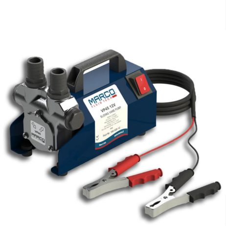 Self-priming electric vane pump with integrated by-pass valve| 12v