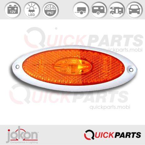 LED Side Marker Light | 12V | Jokon SM1 00 E2-05024, SMLR 2010/12w