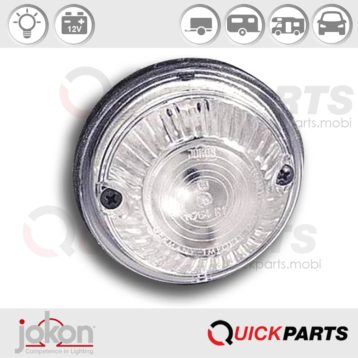 Front Marker Light for surface mounting | Jokon E1-11764