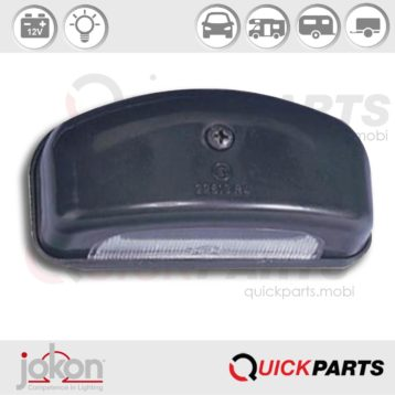 Number Plate Light | 12V | Jokon 13.4002.100, E1-22813