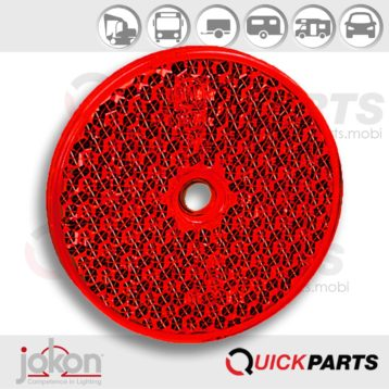 Red Reflex Reflector Ø 60 mm | Jokon 30.0003.000, E1-0221354