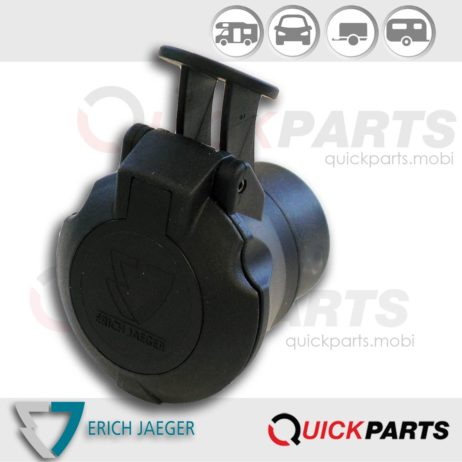 Mini short adapter from vehicle (7P/12V) to trailer (13P/12V)