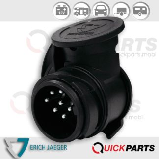 Mini adaptateur du véhicule (13P / 12V) à la remorque (7P / 12V)