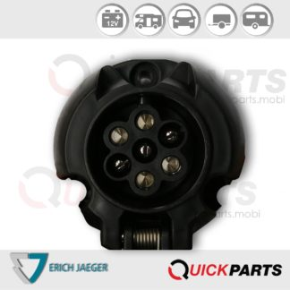 7P/12V socket (ISO 1724 - Type N)
