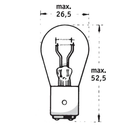 Stop and tail lamps 12 V | 21/5 W