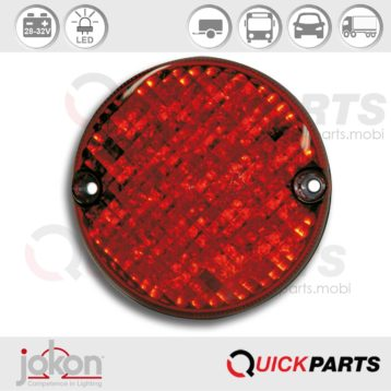 LED Stop / Tail Light | 28-32V | Jokon E2-203037, BRS 720 / 28V