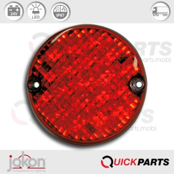 LED Stop / Tail Light | 24V | Jokon E2-203037
